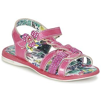 Topánky Dievčatá Sandále Catimini PEKANS Ružová