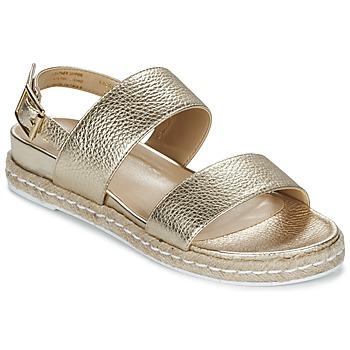 Topánky Ženy Sandále Dune London LACROSSE Zlatá