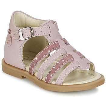 Topánky Dievčatá Sandále Aster MINIONE Ružová