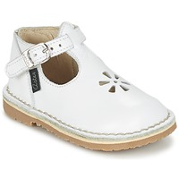 Topánky Dievčatá Balerínky a babies Aster BIMBO Biela