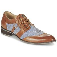 Topánky Muži Derbie Kdopa AGADIR Ťavia hnedá / Modrá