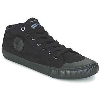 Topánky Muži Členkové tenisky Pepe jeans INDUSTRY ROUTES čierna
