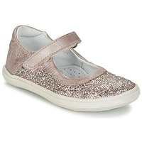 Topánky Dievčatá Balerínky a babies GBB PLACIDA Ružová / Zlatá