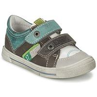 Topánky Chlapci Nízke tenisky GBB PHIL šedá / Zelená