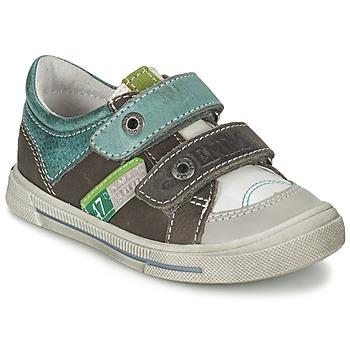 Topánky Chlapci Nízke tenisky GBB PHIL Bielo-zelená / Snow