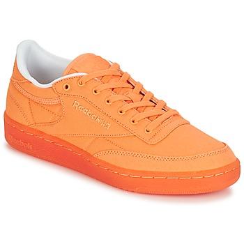 Topánky Ženy Nízke tenisky Reebok Classic CLUB C 85 CANVAS Oranžová