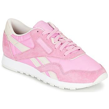 Topánky Ženy Nízke tenisky Reebok Classic CL NYLON X FACE Ružová
