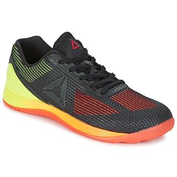 Topánky Muži Fitness Reebok Sport R CROSSFIT NANO 7.0 čierna / Zelená