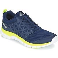 Topánky Muži Fitness Reebok Sport SUBLITE XT CUSHION Modrá / žltá