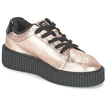 Topánky Ženy Nízke tenisky TUK CASBAH CREEPERS Ružová / Metalická