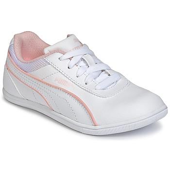 Topánky Dievčatá Nízke tenisky Puma JR MYNDY 2 SL.WHT Biela