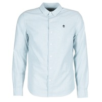 Oblečenie Muži Košele s dlhým rukávom Timberland LS RATTLE RIVER OXFORD SHIRT SLIM Modrá