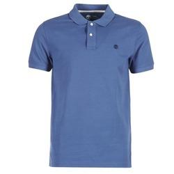 Oblečenie Muži Polokošele s krátkym rukávom Timberland SS MILLERS RIVER PIQUE REG POLO Modrá