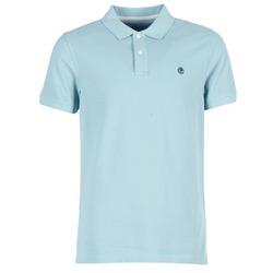 Oblečenie Muži Polokošele s krátkym rukávom Timberland SS MILLERS RIVER PIQUE REG POLO Modrá / Clear