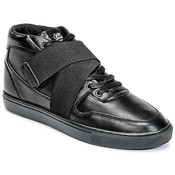 Topánky Muži Členkové tenisky Sixth June NATION STRAP čierna