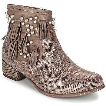 Topánky Ženy Polokozačky Mimmu MOONSTROP Strieborná