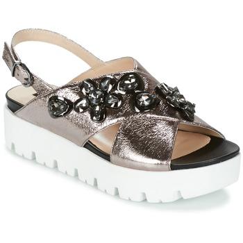 Topánky Ženy Sandále Luciano Barachini TANITI Šedá