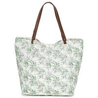 Tašky Ženy Veľké nákupné tašky  Petite Mendigote CLEA Krémová / Kaki