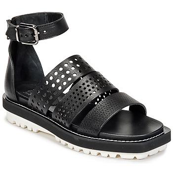 Topánky Ženy Sandále Now PADOU Čierna