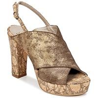 Topánky Ženy Šľapky Now PALISSA Bronzová