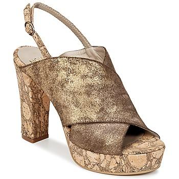 Topánky Ženy Nazuvky Now PALISSA Bronzová