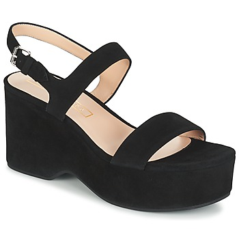 Topánky Ženy Sandále Marc Jacobs LILLYS WEDGE čierna