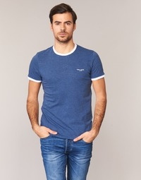 Oblečenie Muži Tričká s krátkym rukávom Teddy Smith THE TEE Modrá