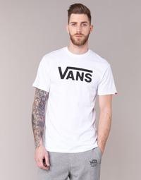 Oblečenie Muži Tričká s krátkym rukávom Vans VANS CLASSIC Biela