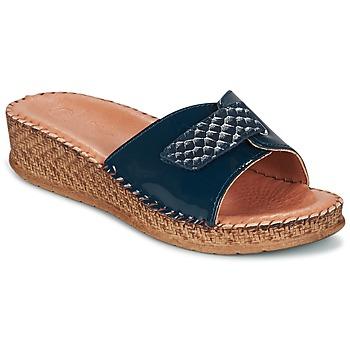 Topánky Ženy Sandále Salamander FLORA Modrá