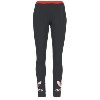Oblečenie Ženy Legíny adidas Originals TREFOIL LEGGING čierna / Ružová
