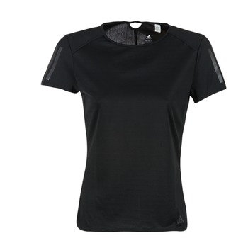Oblečenie Ženy Tričká s krátkym rukávom adidas Performance RS SS TEE W Čierna