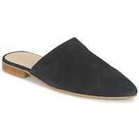 Topánky Ženy Šľapky Esprit AMARIS SLIDE čierna