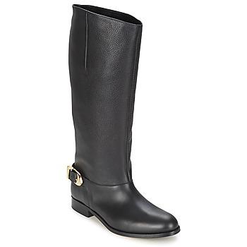 Topánky Ženy Čižmy do mesta Moschino Cheap & CHIC BUCKLE Čierna