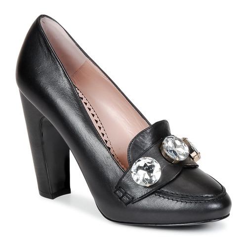 Topánky Ženy Lodičky Moschino Cheap & CHIC STONES Čierna