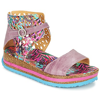Topánky Ženy Sandále Think REMIL Ružová / Viacfarebná