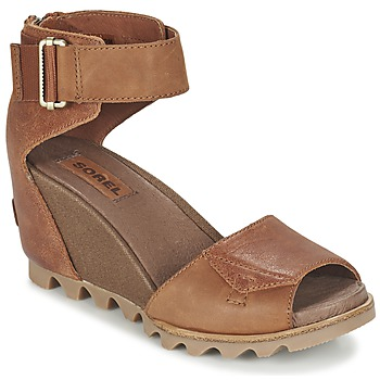 Topánky Ženy Sandále Sorel JOANIE SANDAL Hnedá / Rustique