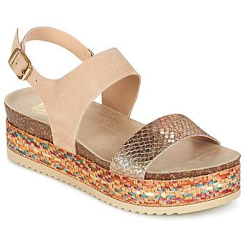 Topánky Ženy Sandále Bullboxer GROJETINE Béžová / Viacfarebná
