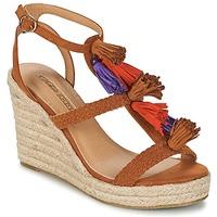 Topánky Ženy Sandále Buffalo VARIN Hnedá