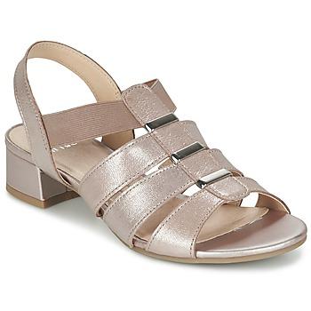 Topánky Ženy Sandále Caprice RIJOULE Ružová / Metalická