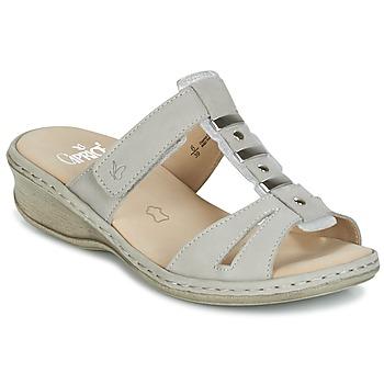 Topánky Ženy Šľapky Caprice VILIALE šedá