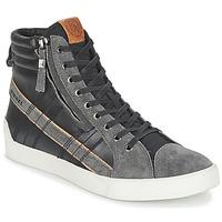 Topánky Muži Členkové tenisky Diesel D-STRING PLUS šedá