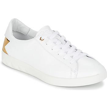 Topánky Ženy Nízke tenisky Diesel S-OLSTICE LOW W Biela / Zlatá