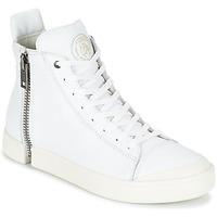 Topánky Muži Členkové tenisky Diesel S-NENTISH Biela