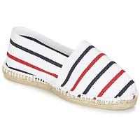 Topánky Espadrilky 1789 Cala CLASSIQUE Biela / Modrá / červená