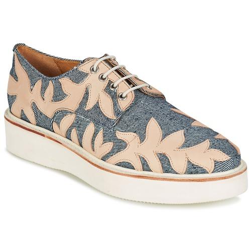 Topánky Ženy Derbie Melvin & Hamilton MOLLY 11 Modrá / Béžová