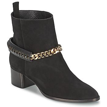 Topánky Ženy Čižmičky Roberto Cavalli YPS542-PC519-05051 Čierna