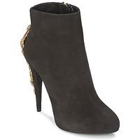 Topánky Ženy Čižmičky Roberto Cavalli YPS564-PC001-05051 Čierna