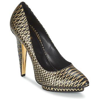 Topánky Ženy Lodičky Roberto Cavalli YDS622-UC168-D0007 čierna / Zlatá
