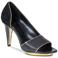 Topánky Ženy Sandále Roberto Cavalli YDS637-UF013-05051 čierna