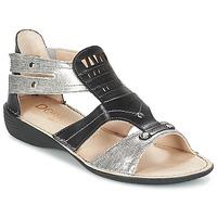Topánky Ženy Sandále Dorking ODA čierna / Strieborná